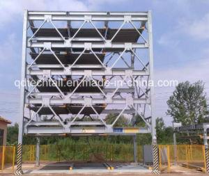 La capa de +6-3 Vertical-Horizontal Sistema de estacionamiento de autos