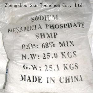 Esametafosfato SHMP 68% del sodio del grado di tecnologia di trattamento delle acque