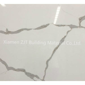 Qualidade superior de quartzo de pedra artificial Calacatta branco