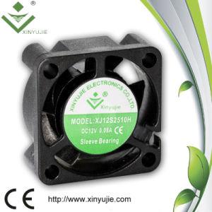 25mmのマイクロ換気扇25*25*10mm 12V DCの軸流れファン