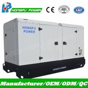 50Hz 110kVA Dieselgenerator leises Genset mit Cummins Engine 6bt5.9-G1/G2
