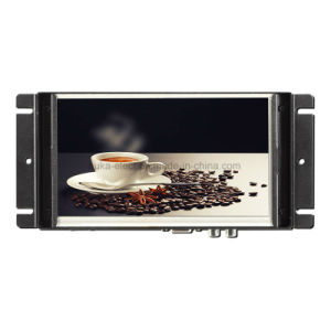 7 Marco de Metal industrial pantalla táctil para la máquina expendedora