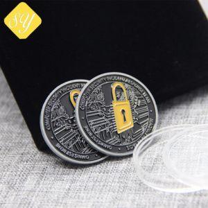 ギフトのための金属の挑戦記念品の金の記念する硬貨