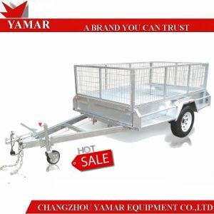 De uitstekende kwaliteit Gegalvaniseerde Op zwaar werk berekende Aanhangwagen van de Doos ATM1400kg