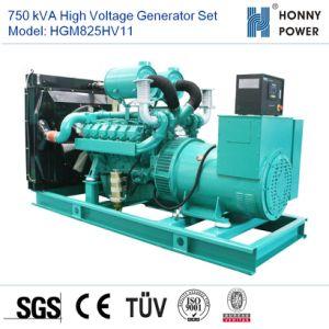 750 ква высокая Votage генераторной установки двигателя Googol 10-11кв с 50Гц