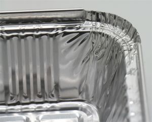 Petite boîte d'aliments d'aluminium