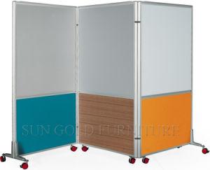Cheap Biombo separador de ambientes con ruedas de la pared de partición (SZ-WST787)