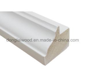 Bois plat étanche Jamb jambage de porte de moulage Apprêt blanc pin radiata chambranles de porte pour la vente