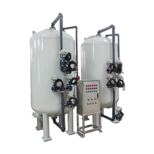 Lavage continu automatique du filtre à charbon de sable pour le traitement des eaux de refroidissement