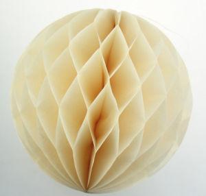 Ghirlanda all'ingrosso del fiore di carta della sfera del favo del tessuto della decorazione di cerimonia nuziale