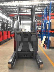 フォークリフトのマストの監視力のバンドパレット1500kg - 2000kg 7mの完全で自由なマストが付いている電気範囲のトラック電池、