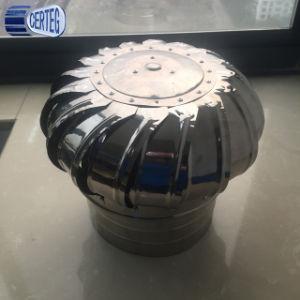 Alumínio e telhado de aço inoxidável Ventilador da turbina