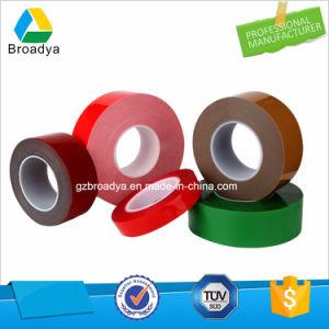 0,64 mm de espuma acrílica de color gris de doble cara cinta adhesiva (por5064G)
