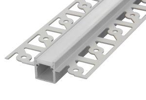 6063 T5 hanno messo il profilo di alluminio anodizzato di profilo di alta qualità di alluminio dell'espulsione per la visualizzazione di LED