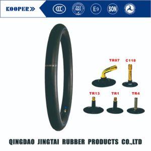 La norma ISO 18 Inch Natural de butilo /motocicleta el tubo interior (300-18)