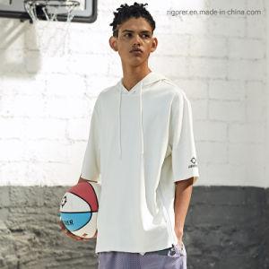 Rigorer Sudadera con capucha DE MANGA CORTA Camiseta de moda Plain