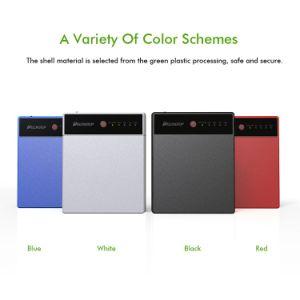 Nueva llegada cuatro colores con el Banco de potencia de carga inalámbrica