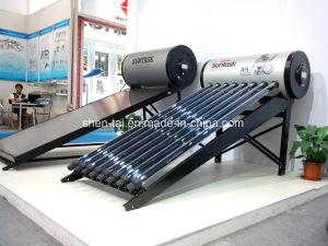 SuntaskはCPCの反射鏡が付いている太陽熱湯を統合した