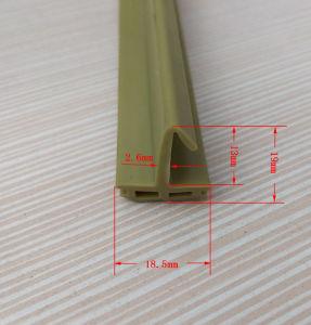 Resistente à intempérie borracha tiras de silicone de isolamento térmico
