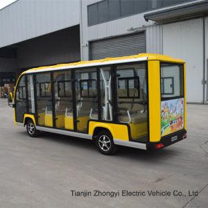 14 lugares autocarro turístico da cidade de eléctrico