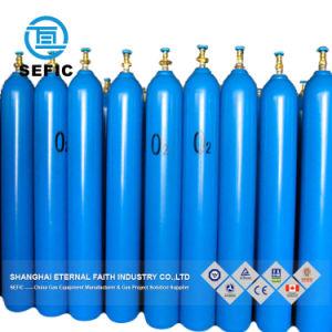 이음새가 없는 강철 산소 수소 아르곤 헬륨 이산화탄소 가스통