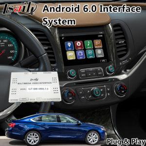 Android Market 6.0 Sistema de Navegação multimédia In-Car para Chevrolet Impala / Colorado Mylink Waze Spotify 2015-2018 do sistema