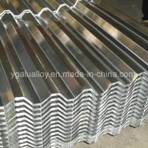 Серии 1000 1050 сплава алюминия из гофрированного картона листа крыши