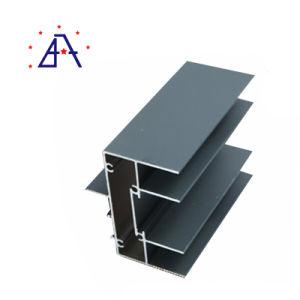 6063 con recubrimiento de polvo de aluminio extruido, Perfil de puerta y ventana