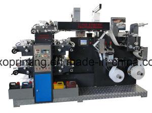 Flexo automático PP PE BOPP máquina de impresión de etiquetas de papel
