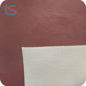 Замасленные поверхности синтетической кожи из ПВХ