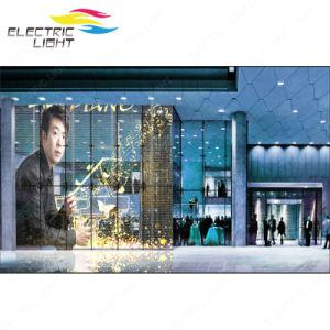 La haute transparence P3 affichage LED en verre pour la fenêtre Affichage LED transparent