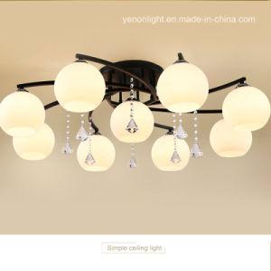 Lustre em decoração de interiores de iluminação da lâmpada de teto Luminária de vida