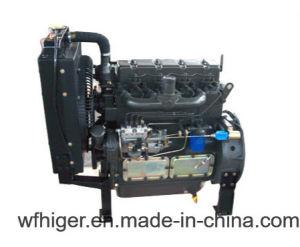 De Britse Dieselmotor van Ricardo Water Cooled 30kw voor het Produceren van Gebruik