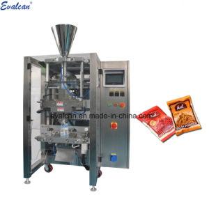 Macchina per l'imballaggio delle merci del sacchetto del sacchetto della polvere di forma/riempimento/saldatura verticale automatica del condimento