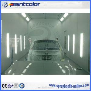 Торговая марка Paintcolor вниз проект для покраски стенд автомобильной краской с помощью вентилятора шкафа на крыше кабины краски для австралийских клиентов