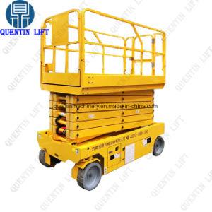 자기 추진 이동할 수 있는 전기는 상승을 가위로 자른다 또는 유압 자동차는 기중기를 가위로 자른다