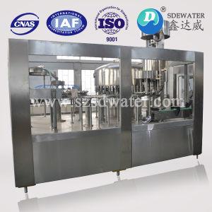 10000b/H/Mineral do vaso de plástico pequena linha de produção de água pura