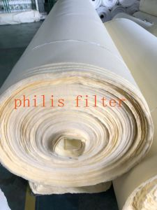 De niet-geweven Geslagen Wol van 1 Micron Naald voelde Zak de Op hoge temperatuur van de Filter van de Collector van het Stof