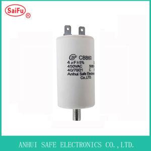 Unterlegscheibe-Pumpen-Kondensator Cbb60 4UF 450VAC