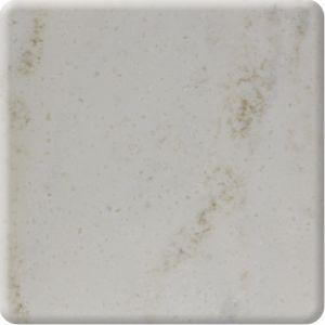 氷河白12mm Corianの純粋なアクリルの固体表面