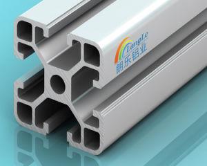6063 T5 V la ranura de la extrusión de perfiles de aluminio para la Protección Industrial