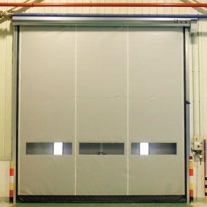 De PVC industrial puertas/Obturador de alta velocidad de obturación rápida de alta velocidad y la puerta de enrollar de PVC/puerta plegable