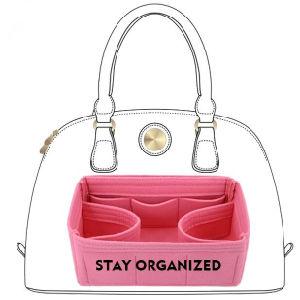 Multi sacchetto dell'organizzatore della borsa dell'inserto del feltro della casella per la borsa di lusso