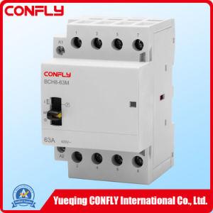 Bch8m-63 2p Modular hogar contactor AC 16A, 32A, el control manual
