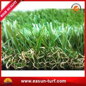Abbellimento dell'erba artificiale di falsificazione del tappeto erboso per il giardino domestico