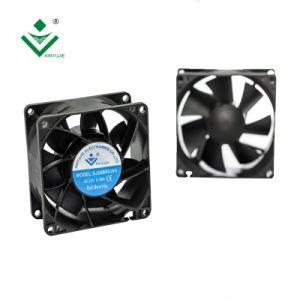 Fluxo Axial 8038 Gama do ventilador do capô 80mm de Alta Rotação do ventilador elétrico 12V DC a ventilação do ventilador 80X80X38