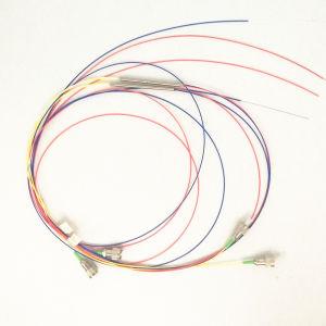 fibra di singolo modo di 2X2 1310/1550nm che coppia il tipo d'acciaio del tubo della fibra nuda