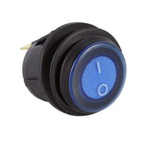 2V interruttore di attuatore leva inserita/disinserita illuminato indicatore luminoso dell'automobile LED 3p Spst impermeabile