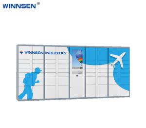 Kast van het Kabinet van het Systeem van de Distributie van het pakket de Elektronische Verkiesbare met het Scherm van de Aanraking van Nice