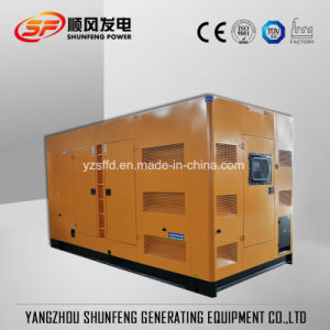 Leiser 600kw Shangchai elektrischer Strom-Dieselgenerator mit Marathon-Drehstromgenerator